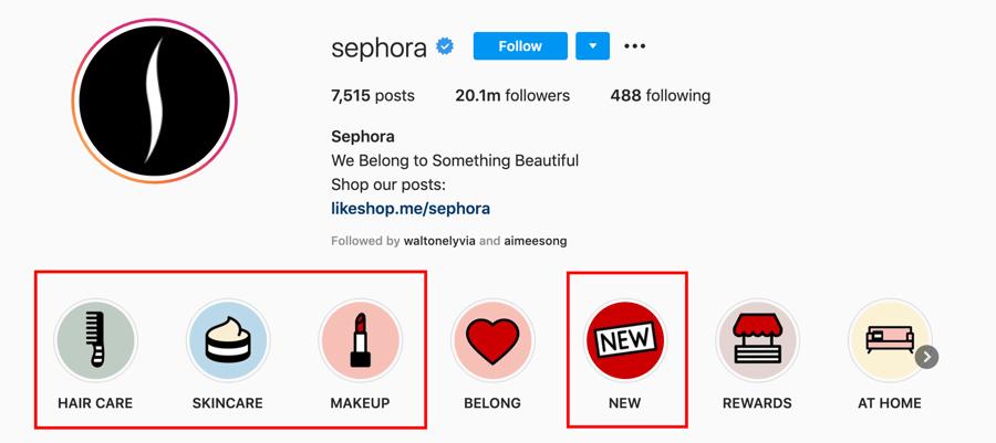 Sephora Highlights