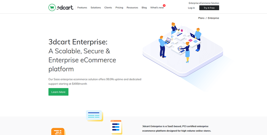3dcart Enterprise eCommerce Solution