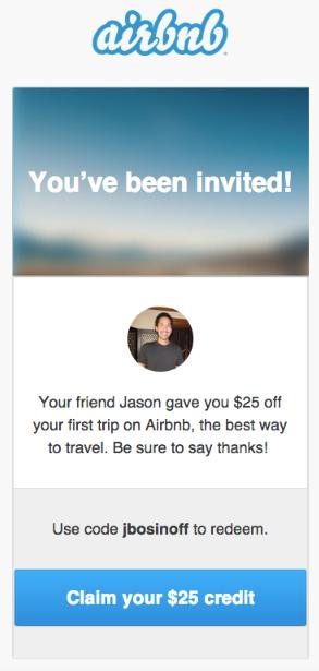 Airbnb App Referral