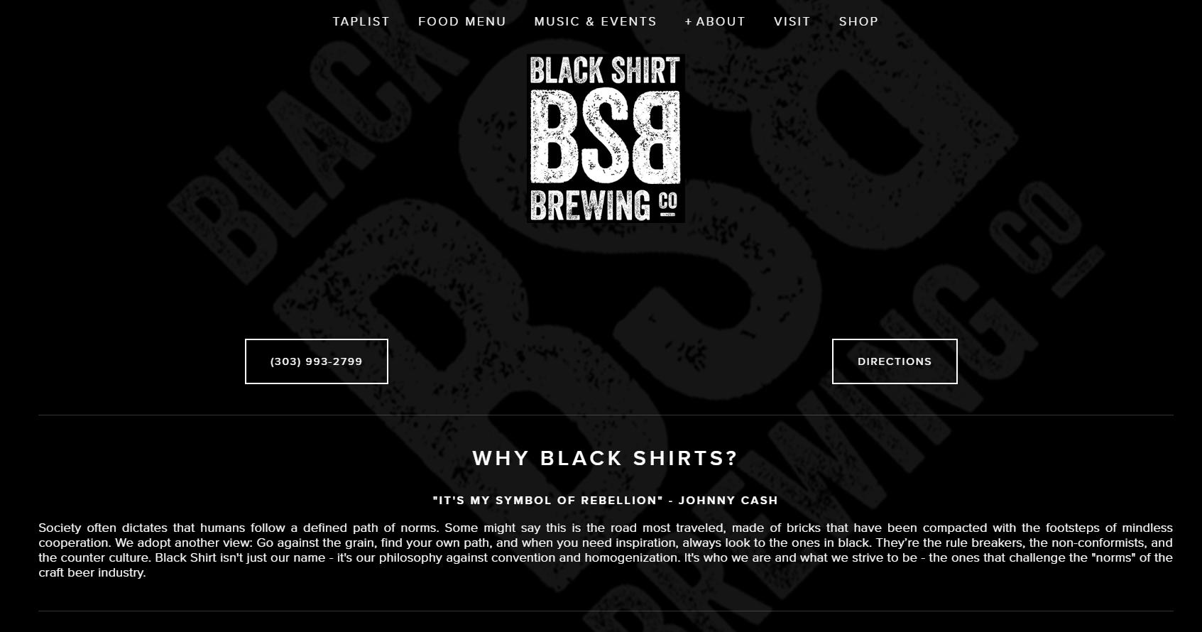 Black Shirt Brewing