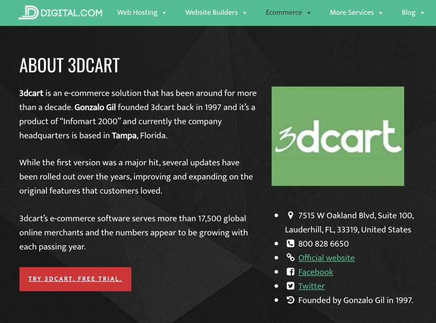 Digital.com, a 3dcart Affiliate