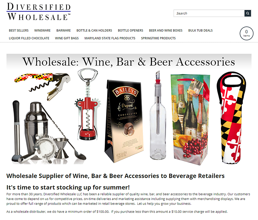 Diversified Wholesale