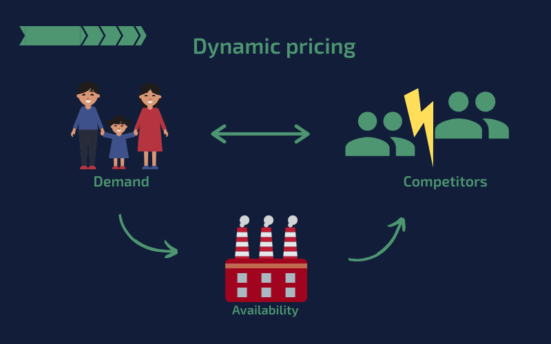 Dynamic Pricing Infographic