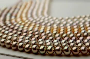 Fancy Color metallic pearls from Pearls of Joy