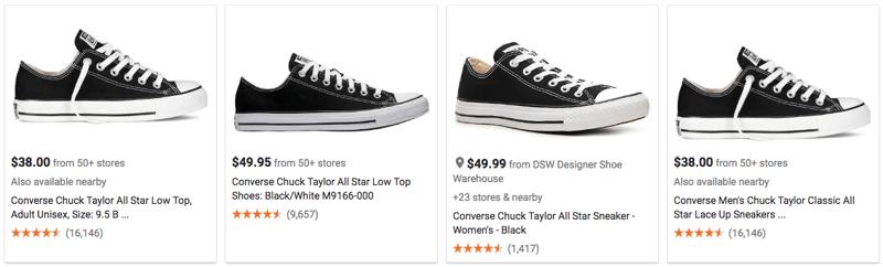 Google Shopping product images