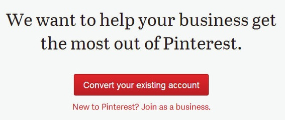convert pinterest page