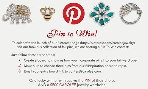 Pin it to win it contest  rules