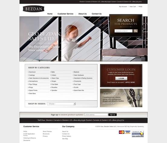 best designed 3dcart sites