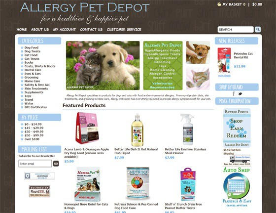 Allergy Pet Depot