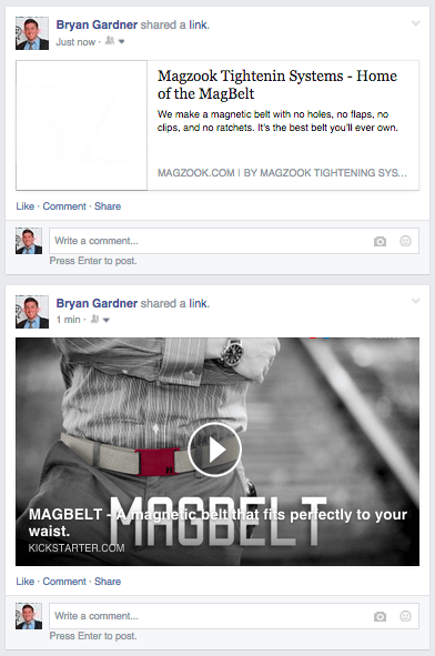 Optimizing Media on Facebook