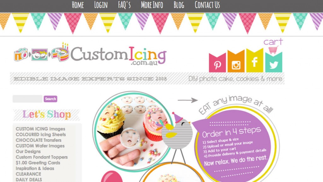 CustomIcing 3dcart store