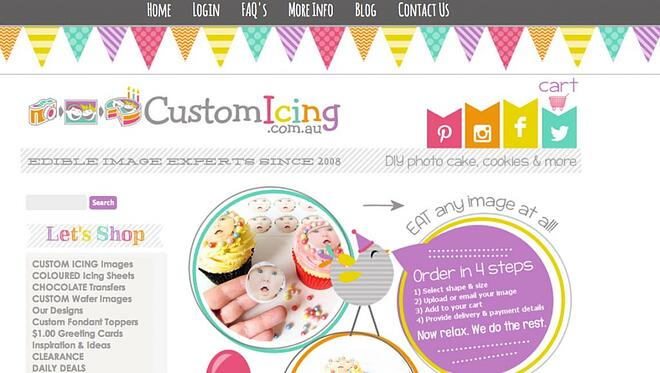 CustomIcing 3dcart store
