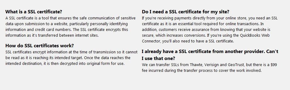 3dcart SSL