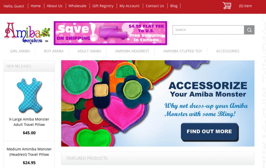 amibamonsters.com 3dcart store