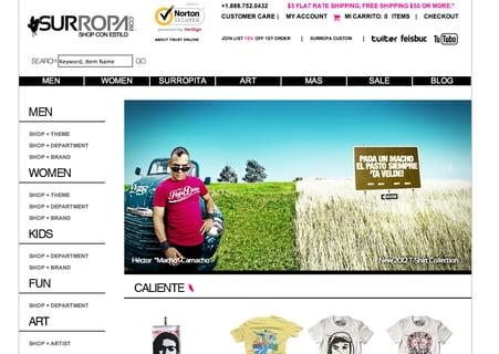 3dcart clothing retailer