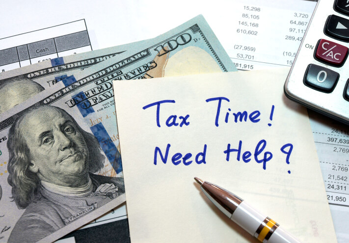 Tax Time Need Help