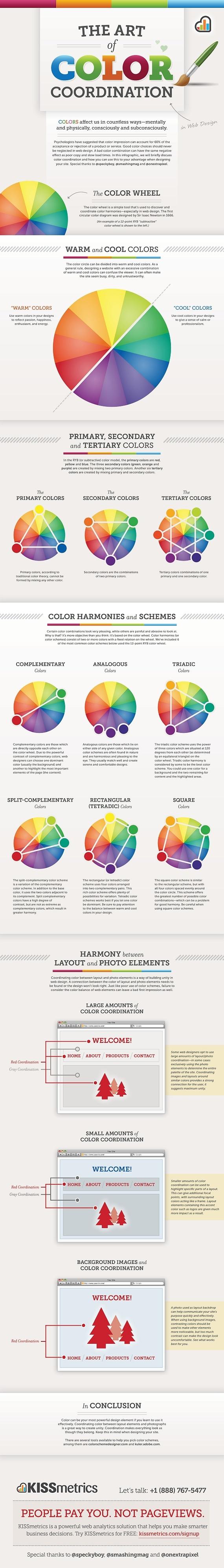 color-coordination in web design