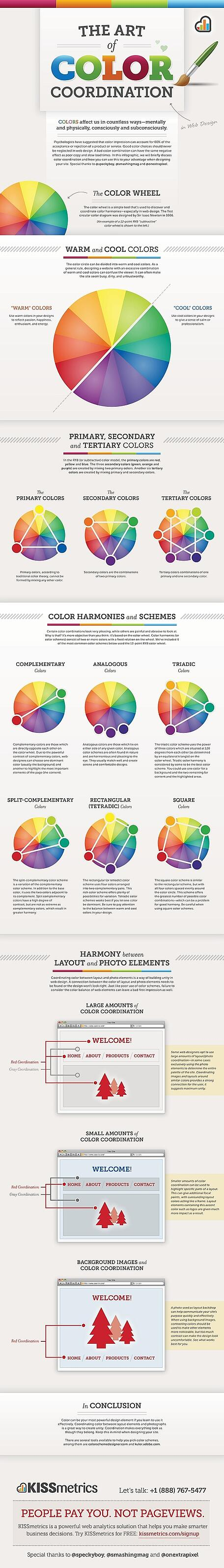 color-coordination in web design
