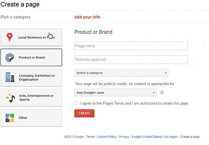 google plus for your online store