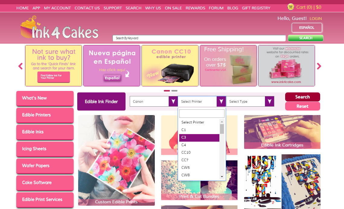 in4cakeshomepage