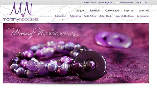 mommynecklace 3dcart store