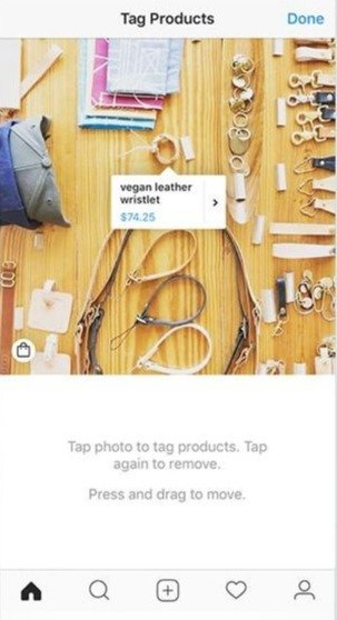 Instagram Tag Products