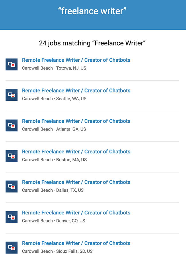 Personalized Freelance Writer Email