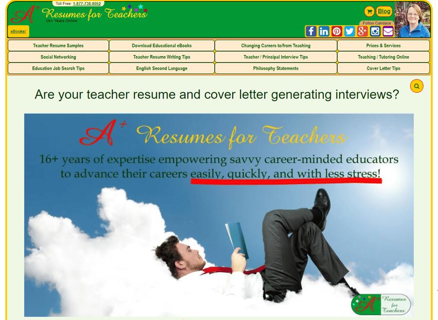 Resumes for Teachers