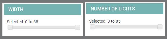 Search Filter Slider