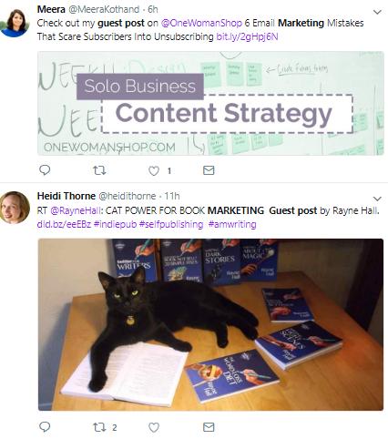 Tweeted Guest Posts