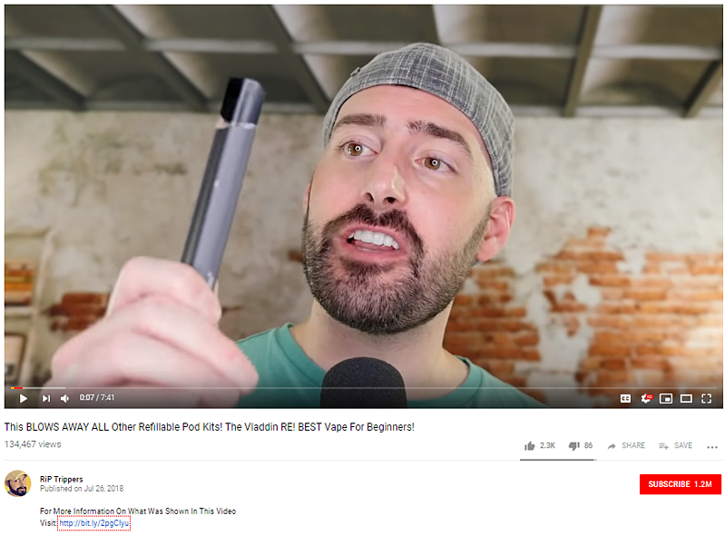 YouTube Vape Reviews