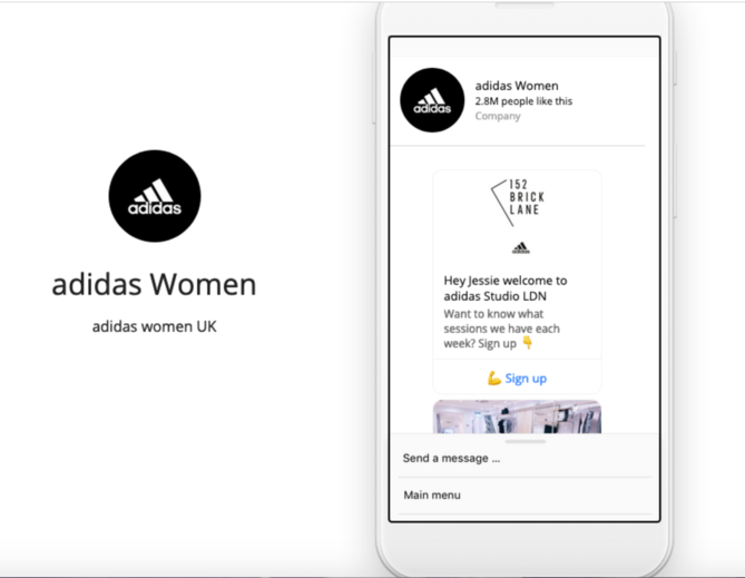 adidas Women Chatbot