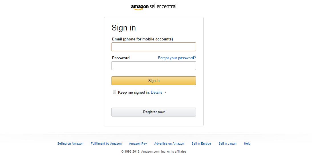 Become an Amazon seller