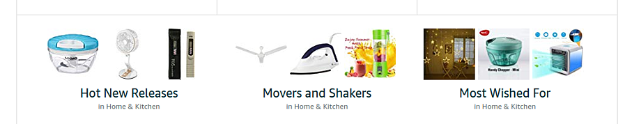 best selling categories home and kitchen