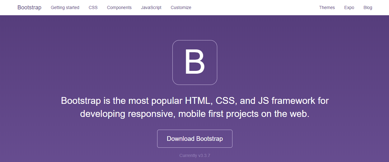 bootstrap-home