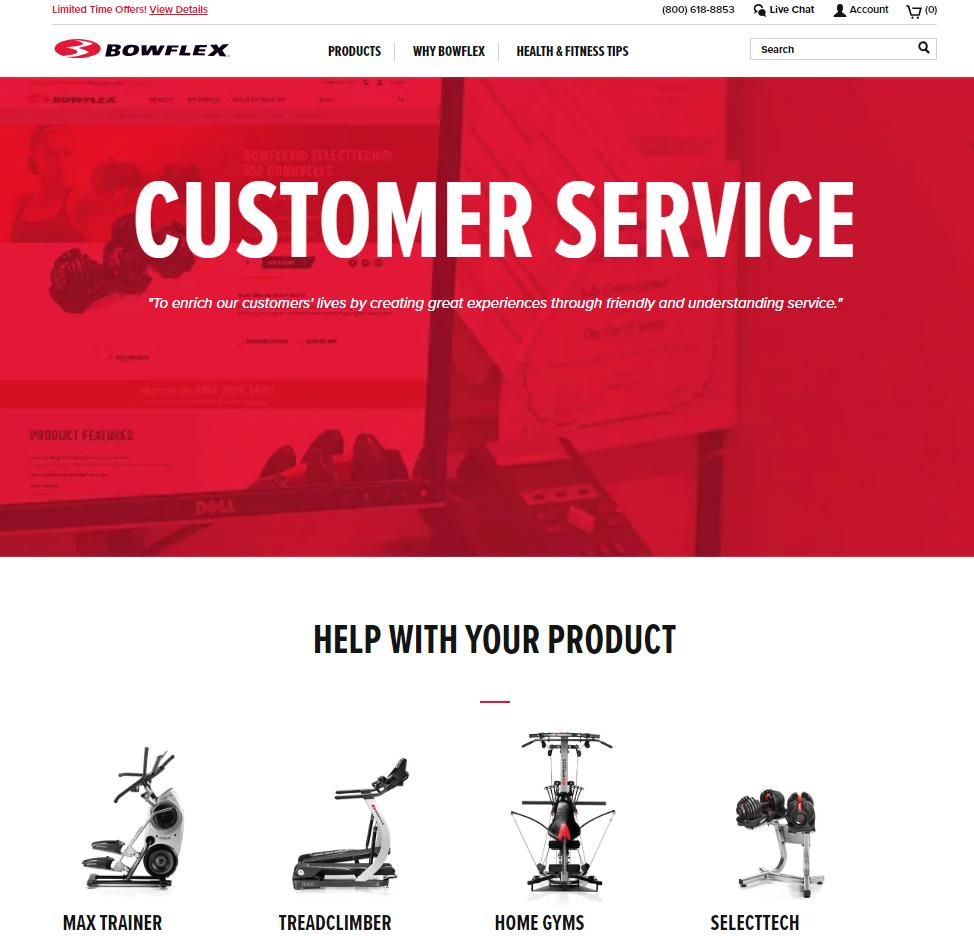 bowflex-customer-service-website