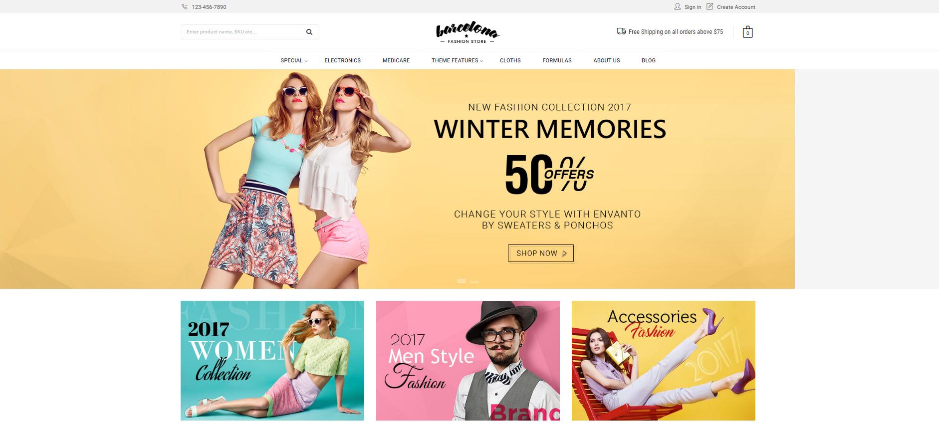 ecommerce categories 1