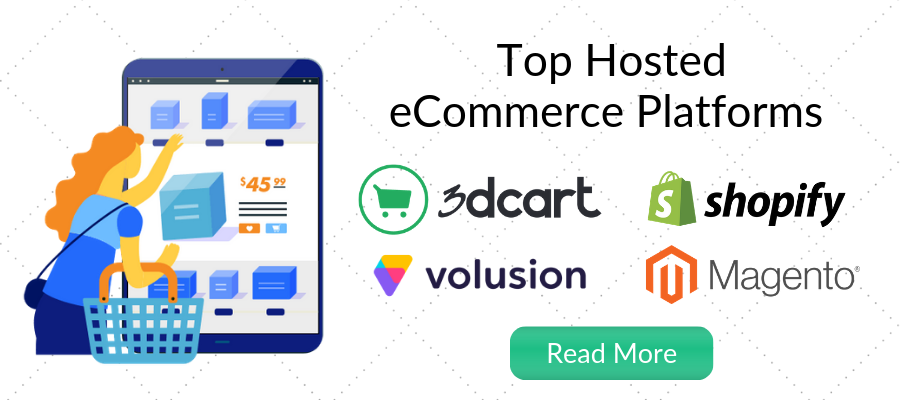 top hosted ecommerce platforms comparison