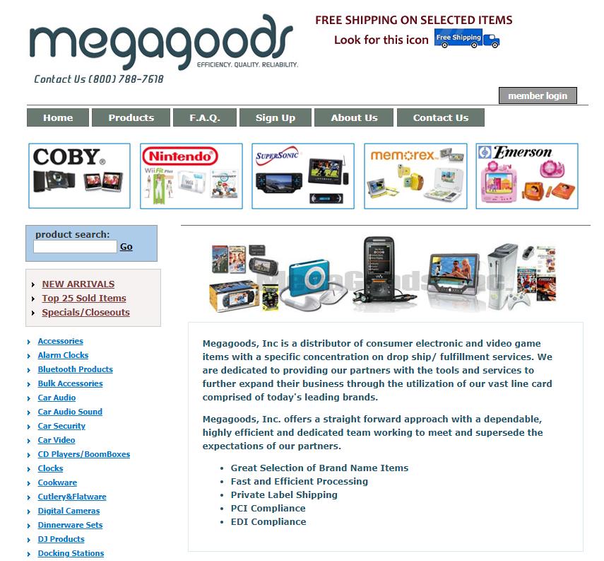 megagoods-electronics-dropshipper