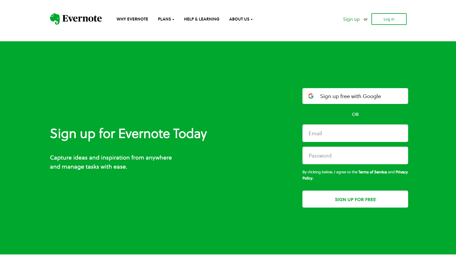 evernote-home-page-signup