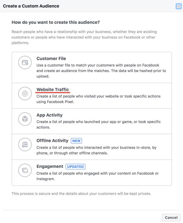 facebook step 3