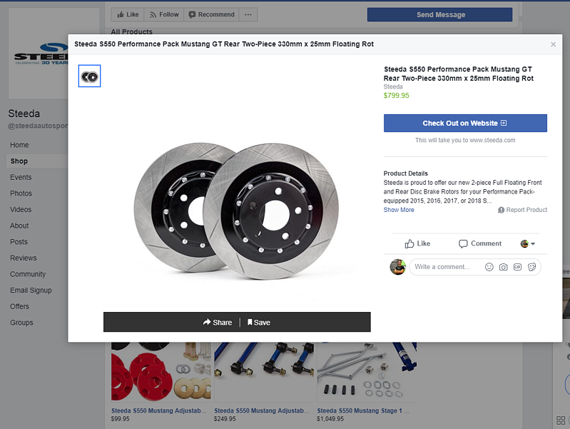 How to add a Facebook Shop Section and Sell Your Products in