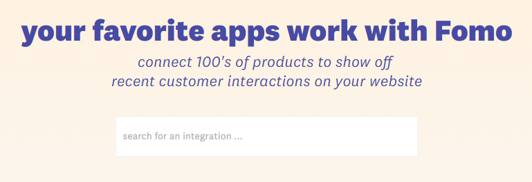 fomo integrations