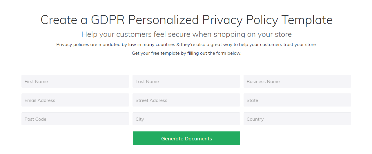 gdpr-policy-generator