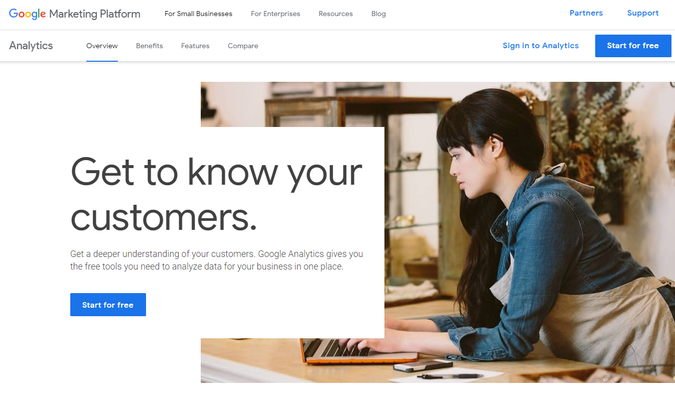 google-analytics-login-page