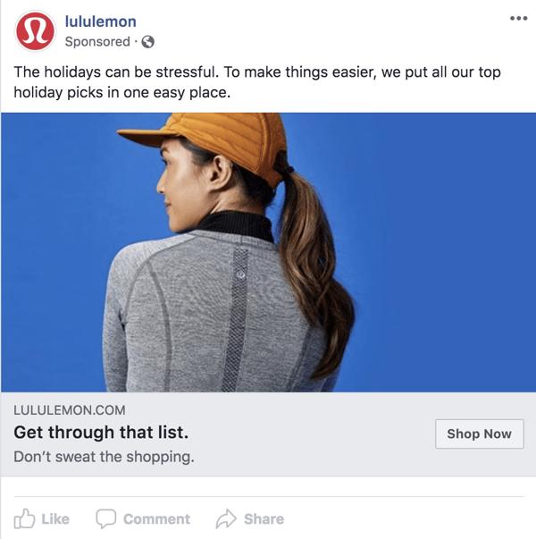 lululemon ad