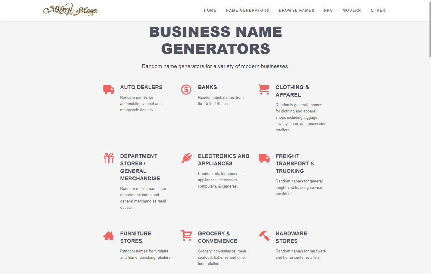 mithril-and-mages-business-name-generators