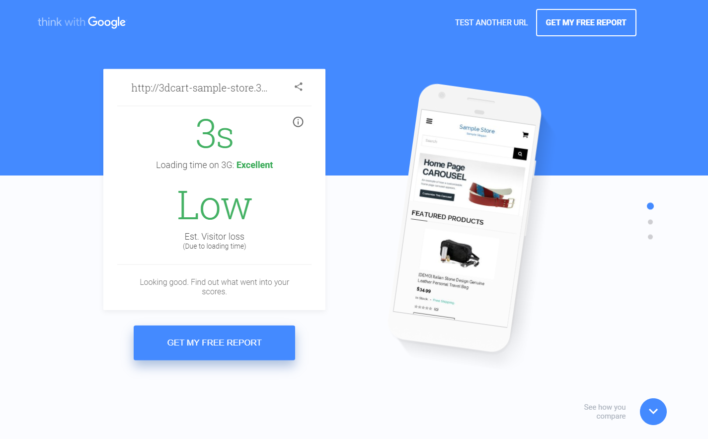 mobile-page-speed-test