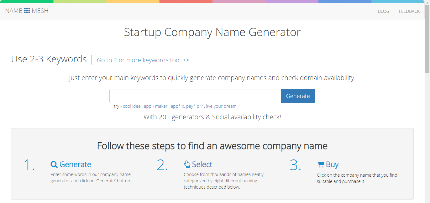 namemesh-startup-name-generator