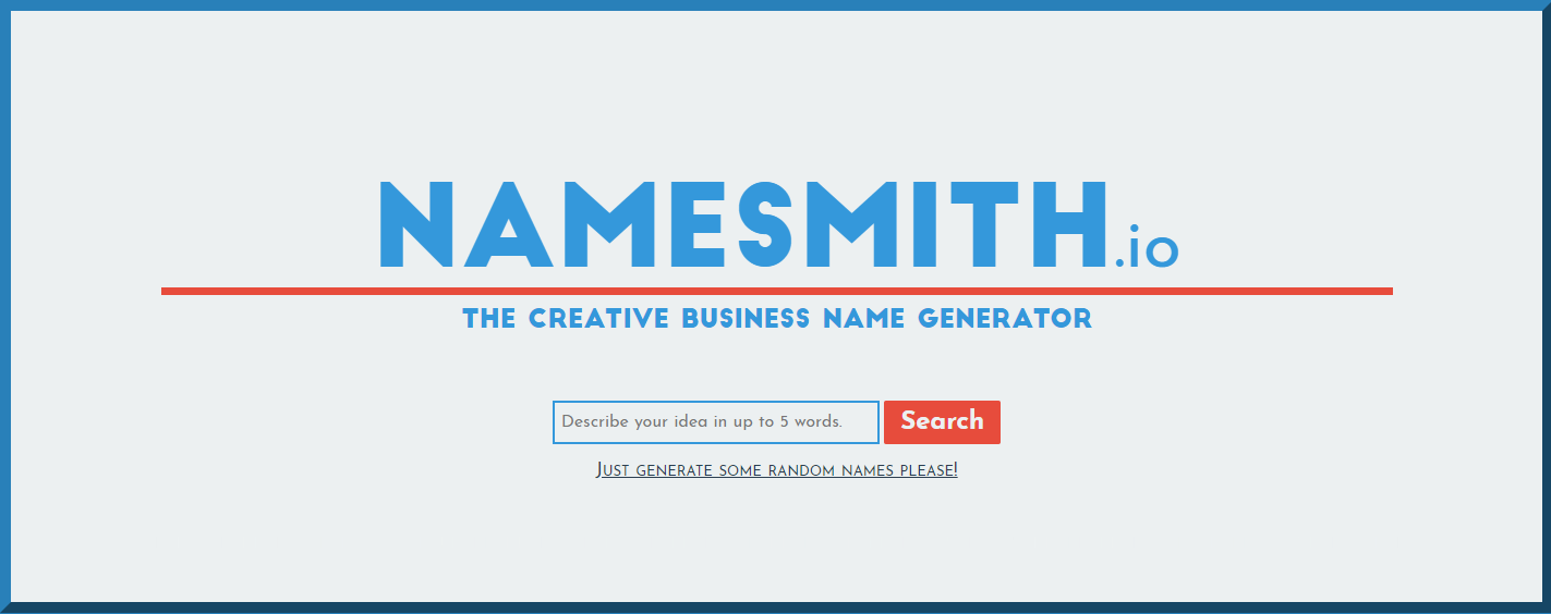 Namesmith Creative Name Generator
